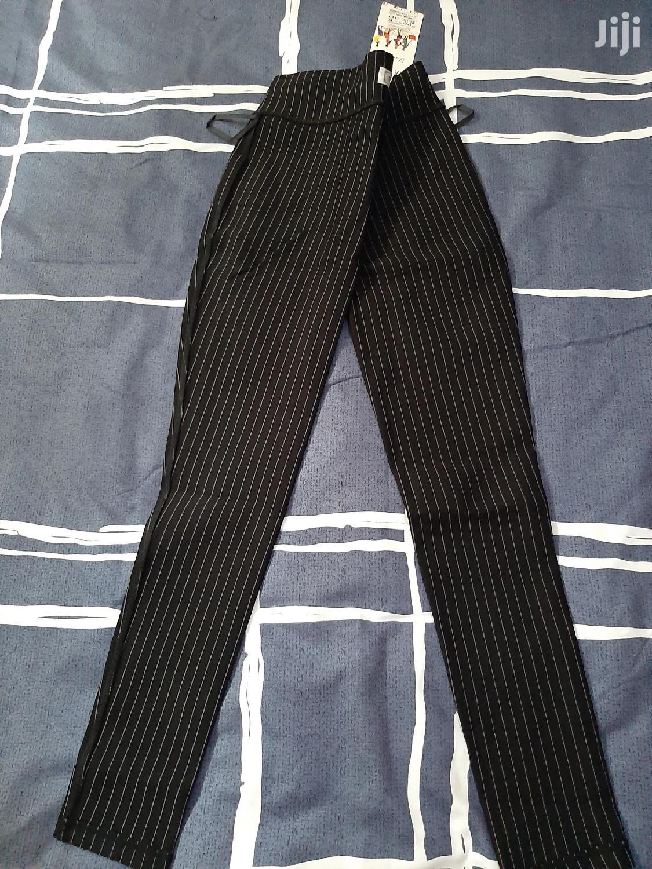 Black With Stripes Bodysuit