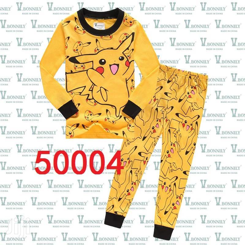 Pikachu Kids House and Pijama Clothe
