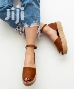 Women's Brown Espadrille Sandal | Shoes for sale in Addis Ababa, Bole