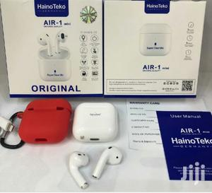 Haino Teko Air-1 Mini Earpod With Free Cover | Headphones for sale in Addis Ababa, Nifas Silk-Lafto